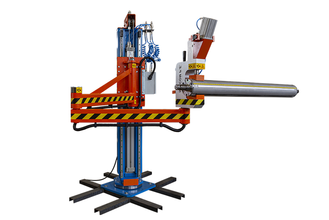 10 – Shafts pneumatic handling system