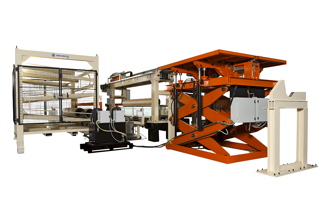 400 - Completely automatic handling system