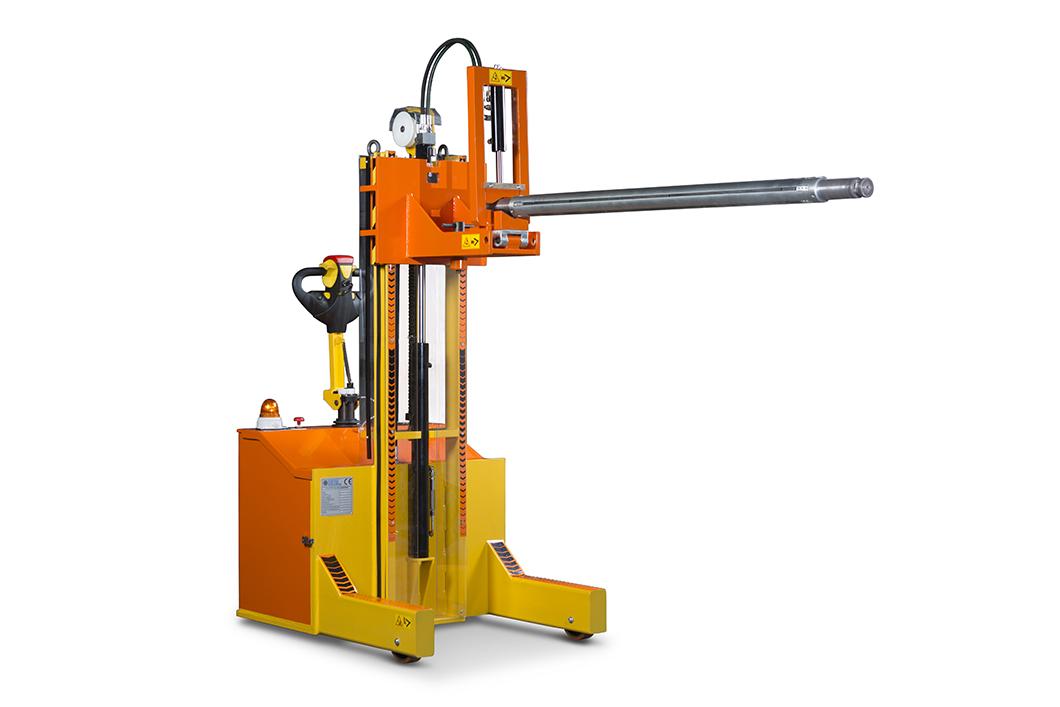 401 BA - Carrello elettrico per la movimentazione di alberi e punzoni