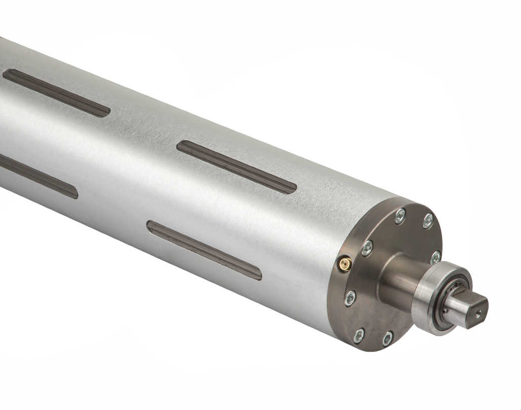 638 PMK - Pneumechanical expanding shaft with lugs