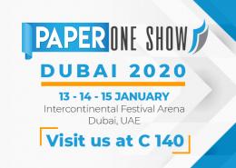 Banner Paper One Show Dubai 2020