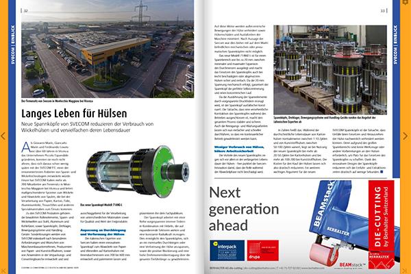 Svecom-P.E.产品刊登在C2 Europa 的封面上!
