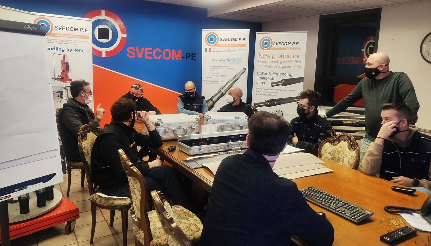 Manufacturing meeting Svecom – Goldenrod